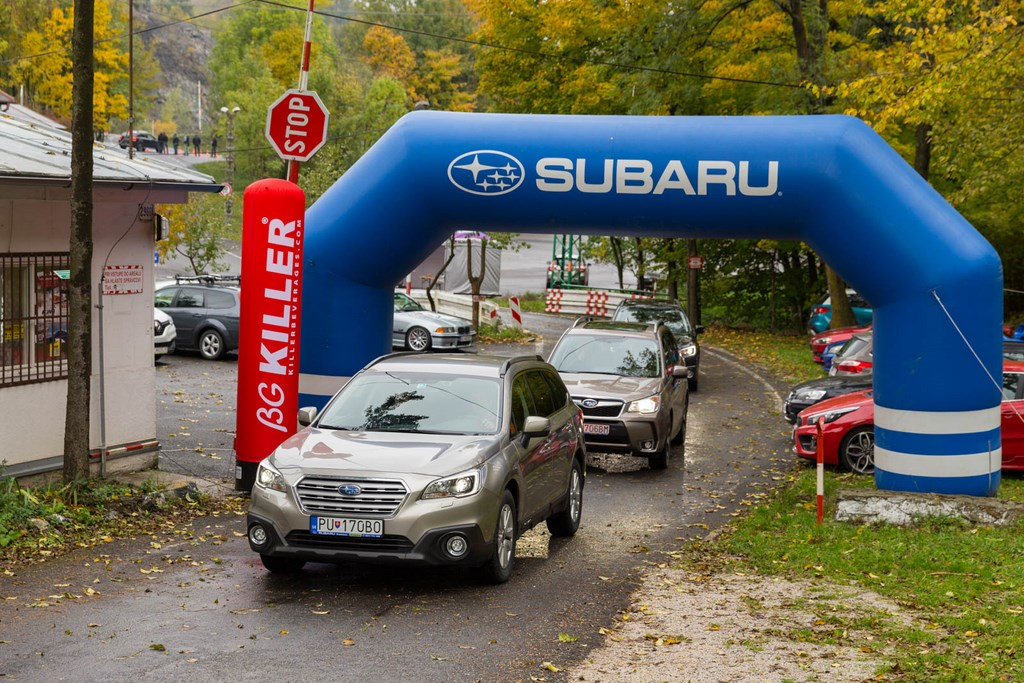 Adrenalínový deň so Subaru