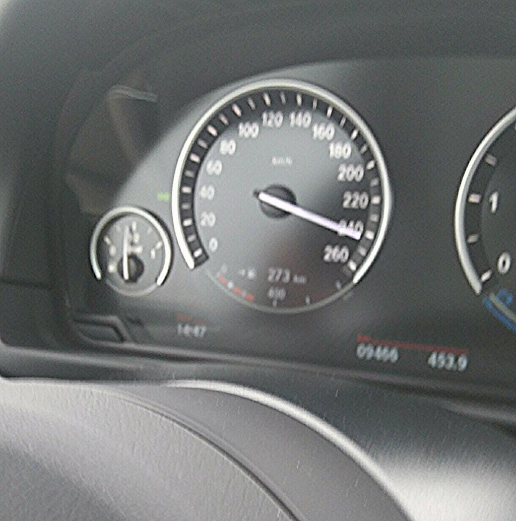 BMW 535d F10 - 250 km/h
