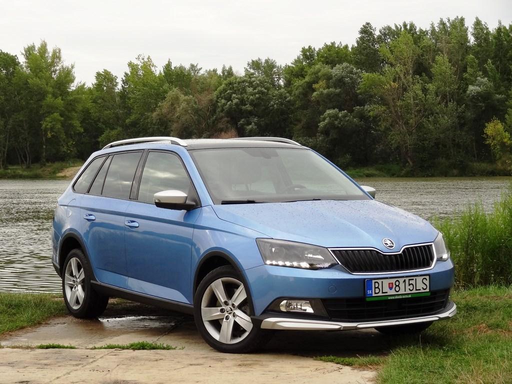Škoda Fabia Combi Scoutline 1.2 TSI