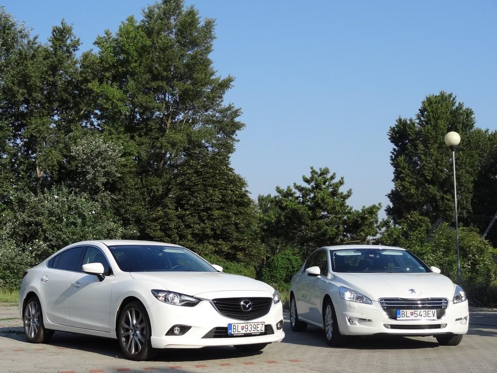 Mazda6 vs. Peugeot 508