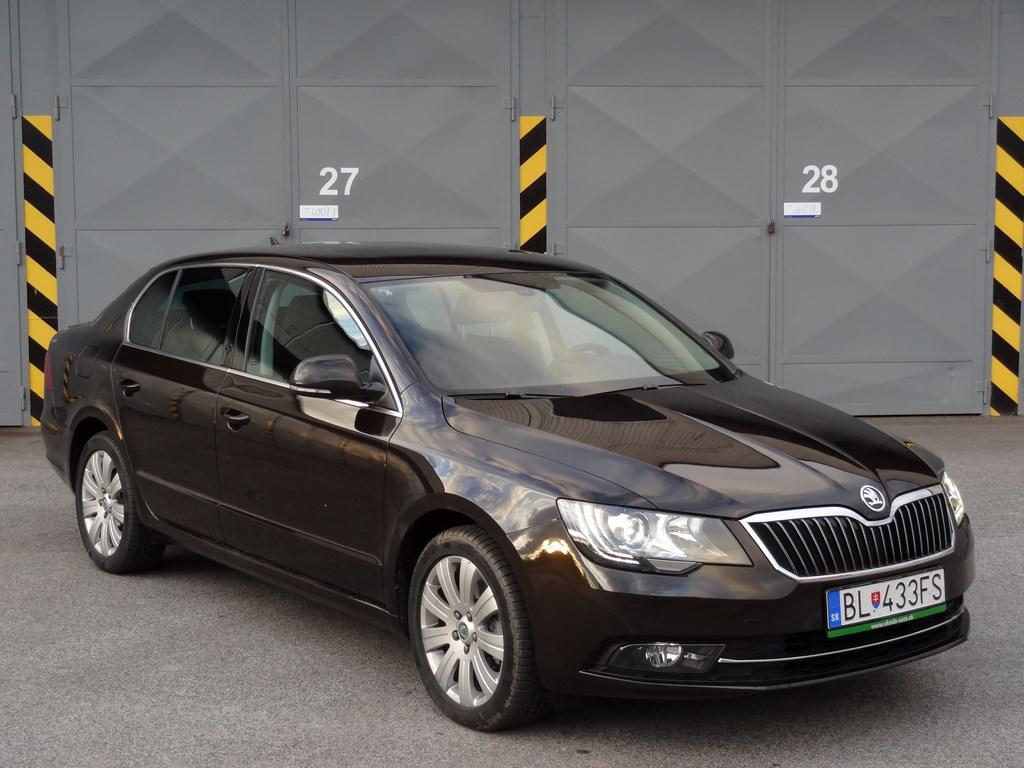 Škoda Superb 2.0 TSI DSG