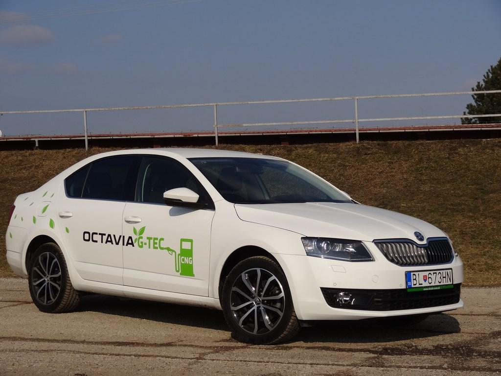Škoda Octavia G-TEC 1.4 TSI