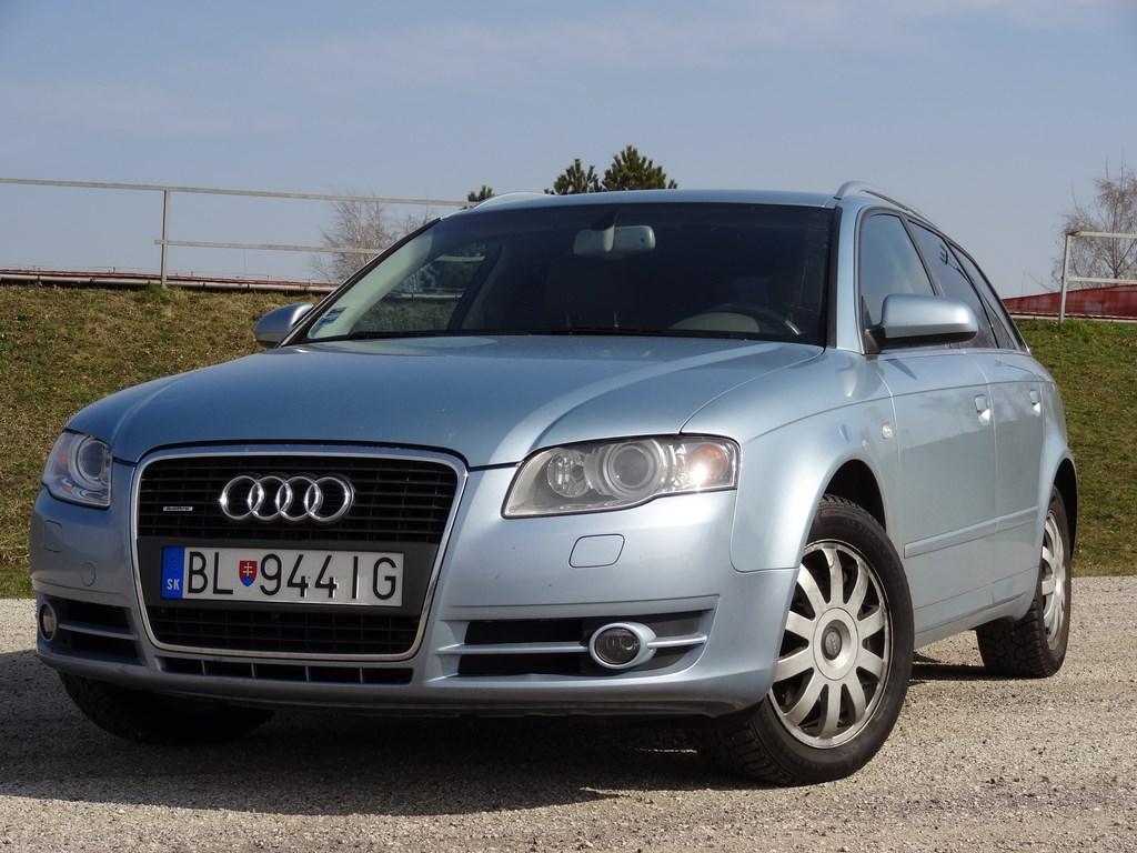 Jazdené Audi A4 Avant 3.0 TDi Quattro 05´