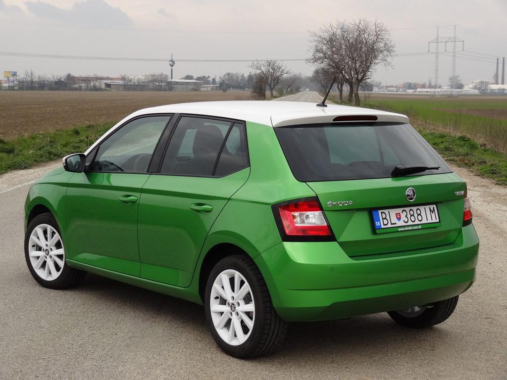 Škoda Fabia III 1.2 TSI 81 kW