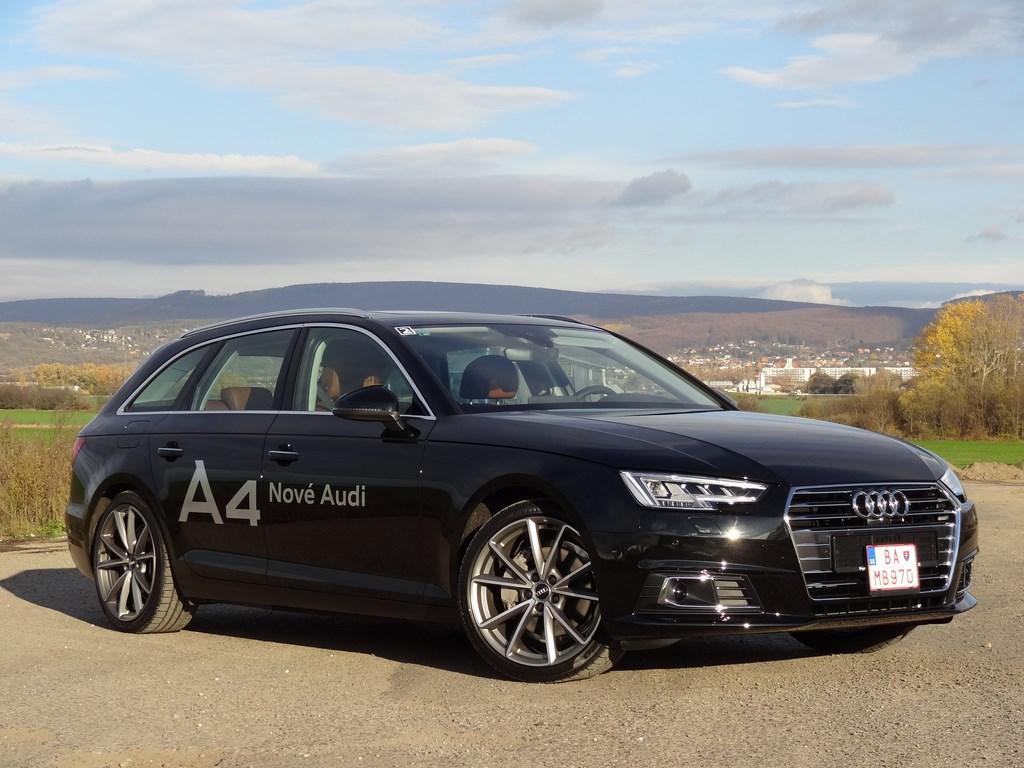 Nová Audi A4 na Slovensku