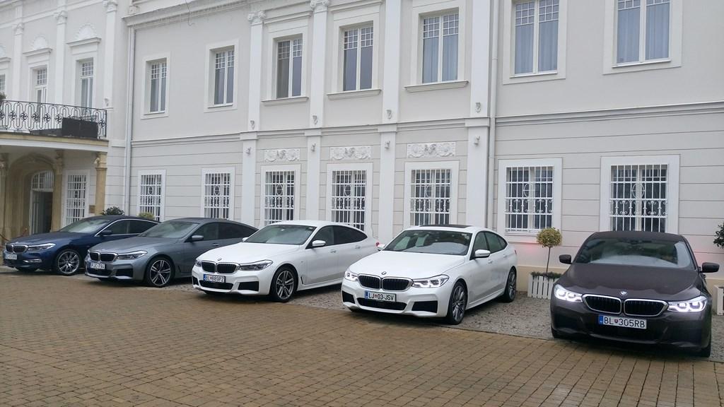 BMW X3 a BMW 6GT na Slovensku