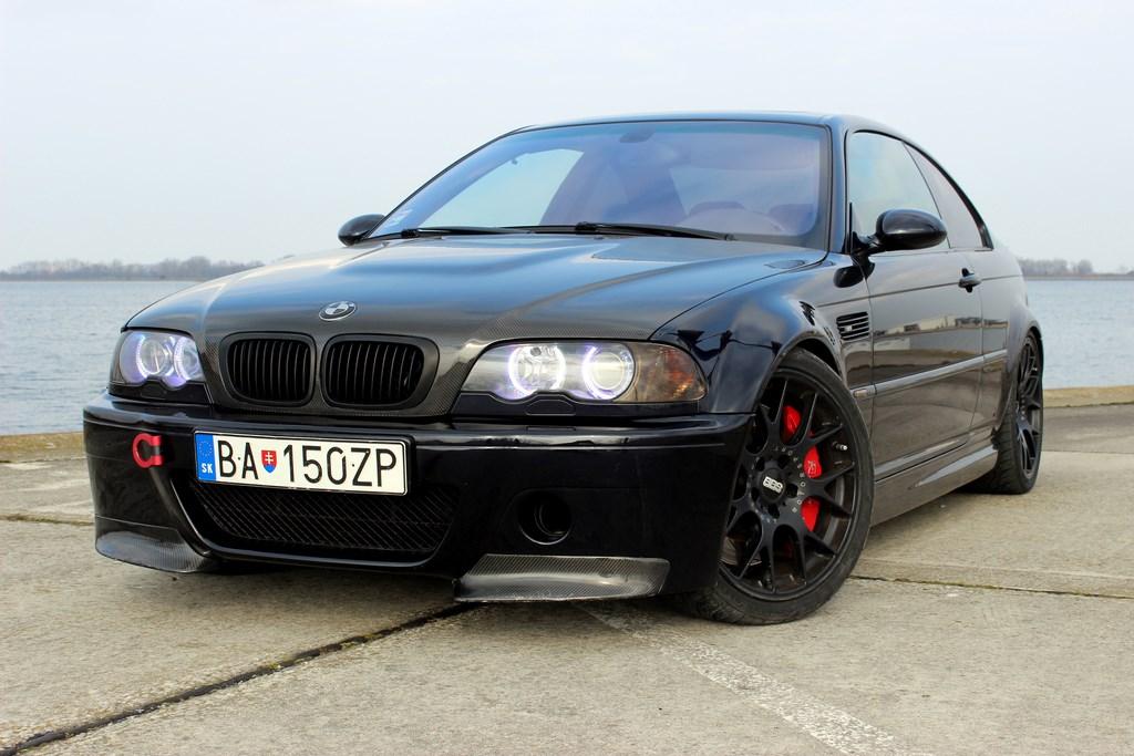Jazdené BMW M3 E46