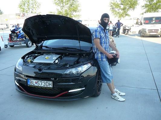 Ivan a Renault Mégane RS